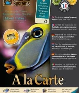 Aquarium Systems Fish Food A La Carte Mixed Flakes Mini 30g