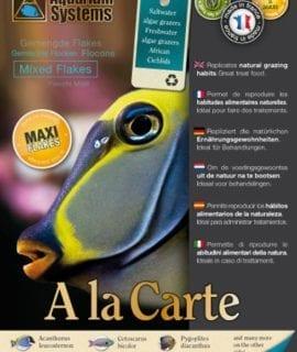 Aquarium Systems Fish Food A La Carte Mixed Flakes Maxi 30g