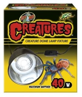 Zoo Med Creature Dome Lamp Fixture 40w, CT-35UK