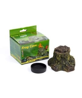 Lucky Reptile Frog Cave approx 12.5x11.5x7cm FC-1