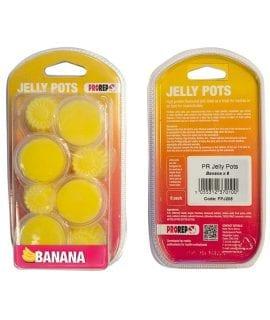 PR Jelly Pots, 17g Banana 8-pk Blister