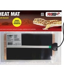 "PR Cloth Element Heat Mat (6x11"") 6W"