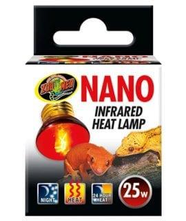 ZM Nano Infrared Heat Lamp 25W, RS-25NE