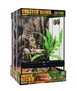Exo Terra Crested Gecko Kit Sm(45cm Tall)PT3778