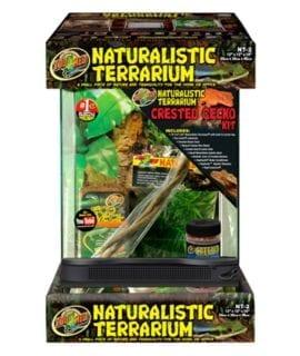 Zoo Med Naturalistic Terrar.Crested Gecko Kit, NT-2CK