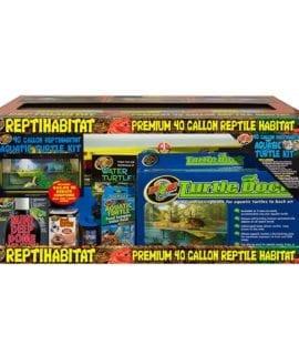 Zoo Med Reptihabitat 40 Gallon Turtle Kit