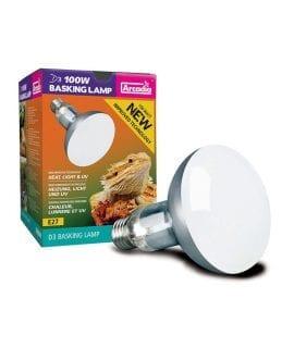 Arcadia Gen2 D3 UV Basking Lamp 100w, SMA100E27