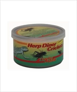 LR Herp Diner Crickets + Calcium
