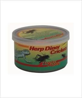 LR Herp Diner Crickets + Calcium
