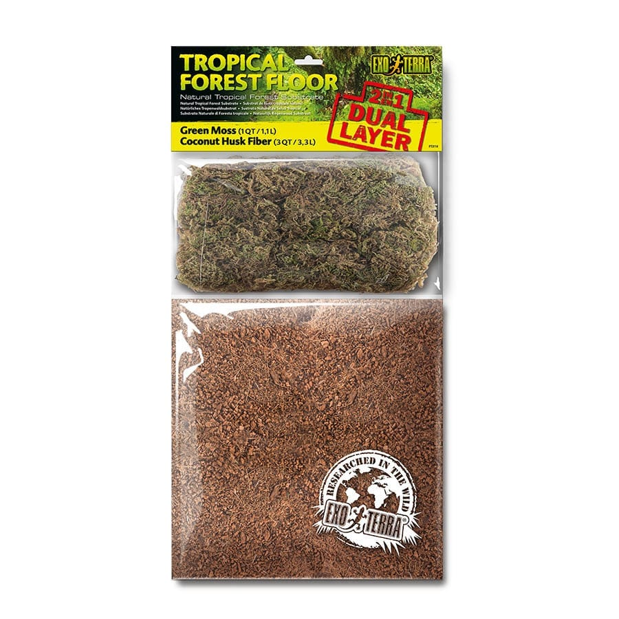 Exo Terra Tropical Forest Floor Dual Layer Sml PT3114