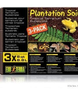 Exo Terra Plantation Soil 3-Pack, PT2771