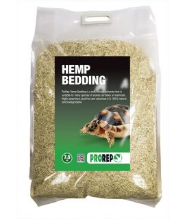 ProRep Hemp Bedding, Compressed Bale 7Kg