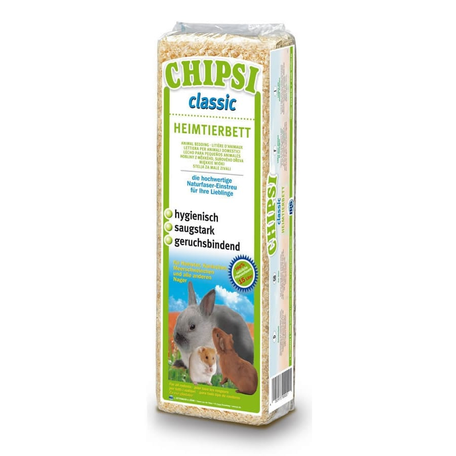 Chipsi Classic Wood Shavings 15 Litre
