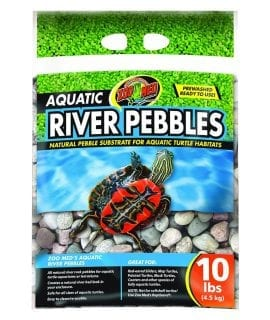 Zoo Med Aquatic River Pebbles 9Kg Bag