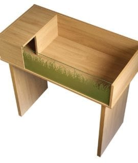 VE Viva Tortoise Table Stand Oak PT4031