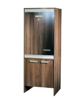 Vivexotic Cabinet Small Walnut PT4036