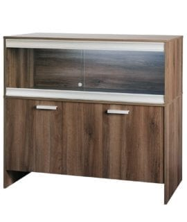 VE Cabinet Large Walnut PT4042