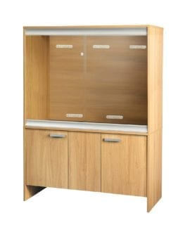 VE Cabinet Large-Deep Oak PT4044