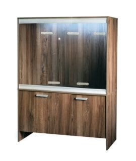 VE Cabinet Large-Deep Walnut PT4045