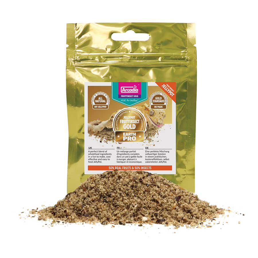 AR EarthPro JellyPot FruitInsect Gold 50g, JPFI50