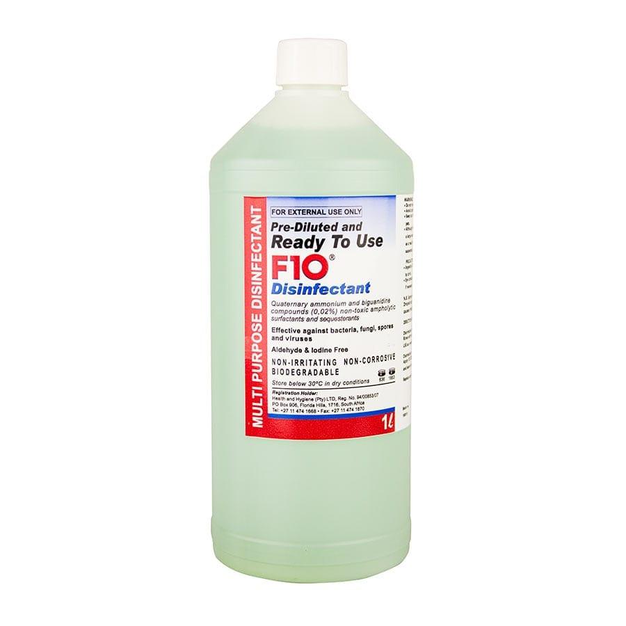 F10 RTU {REFILL} Disinfectant 1 Litre