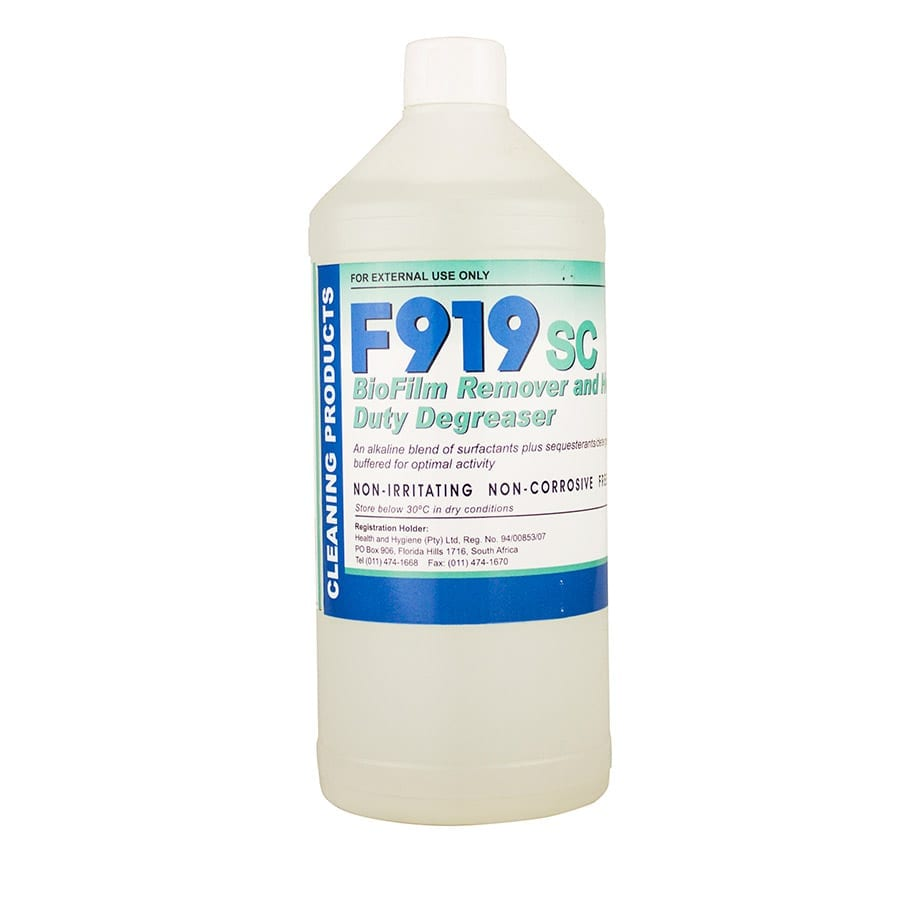 F919SC Degreaser/Cleaner 5 Litre