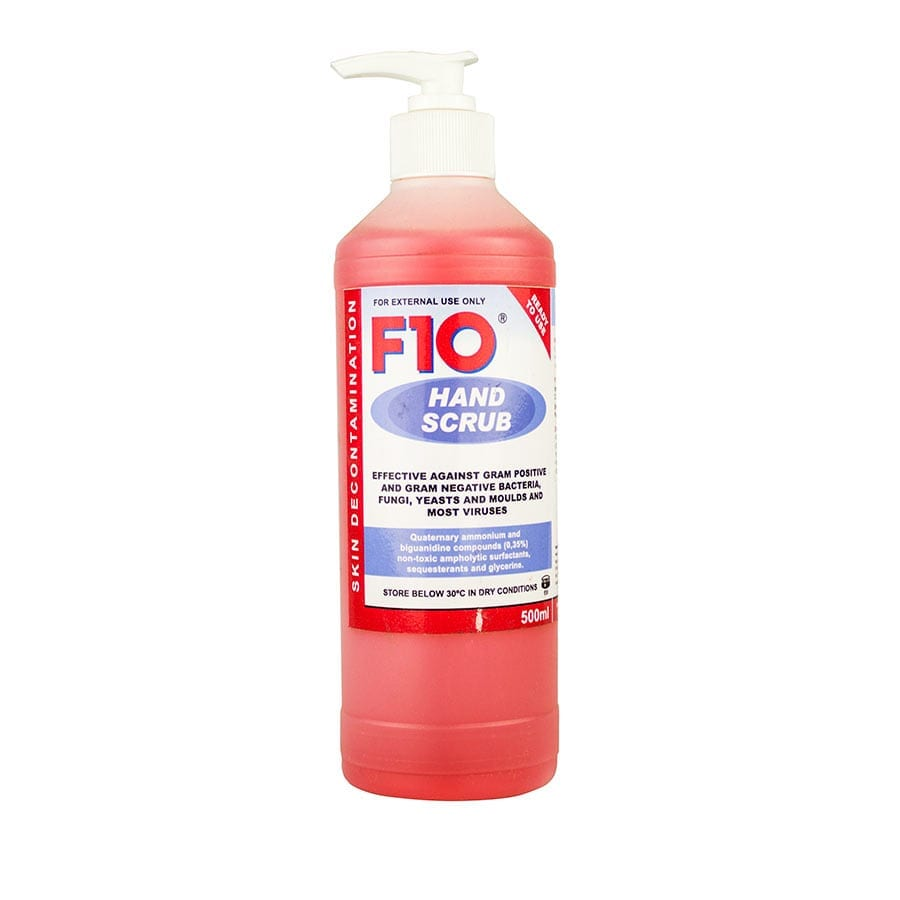 F10 Hand Scrub 500ml