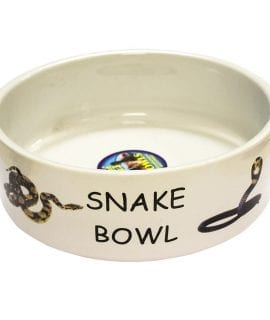 Ceramic Snake Bowl 10in 260mm LB-490