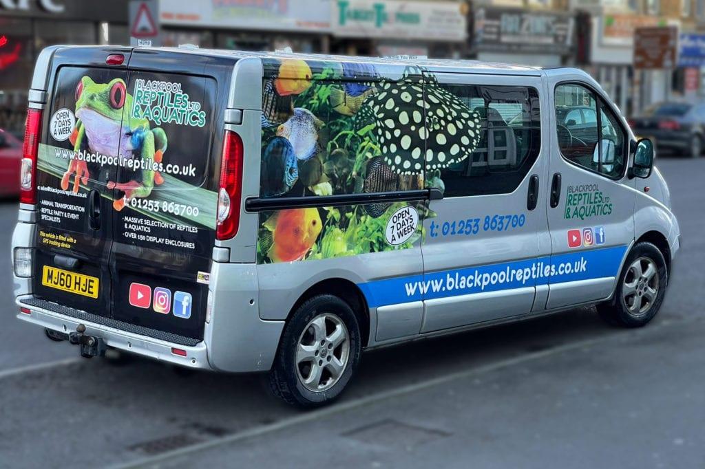 Blackpool Reptiles & Aquatics Reptile Courier Service